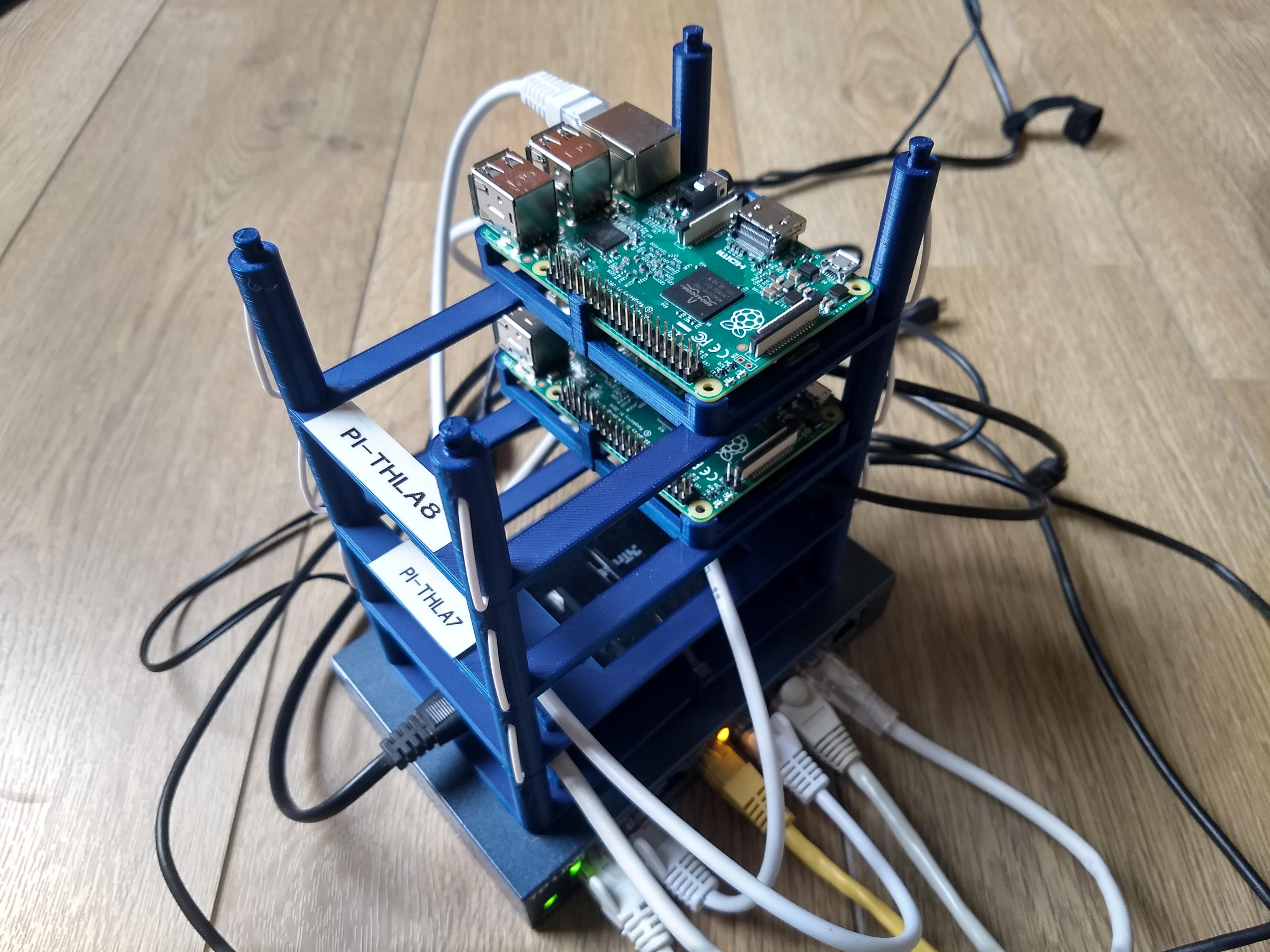 raspberry pi stack prototype
