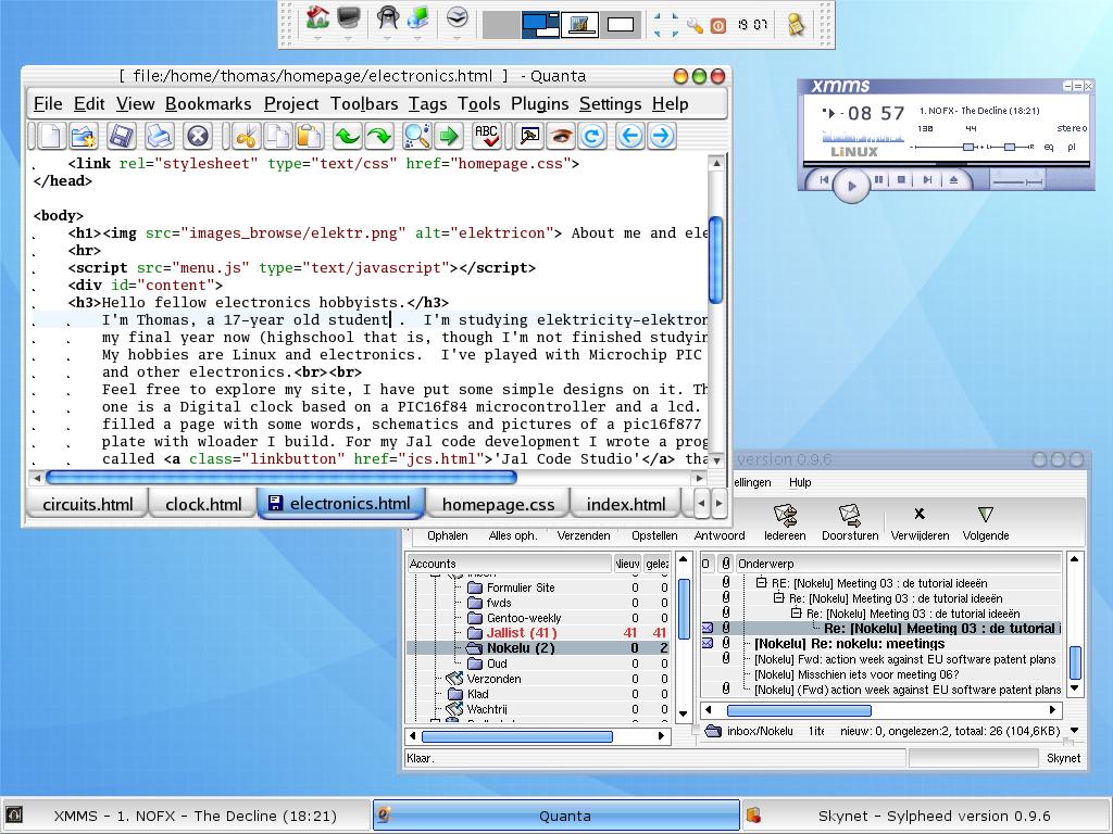 Xfce4 Window Borders & Xfce-window-manager-settings Sc 1 St