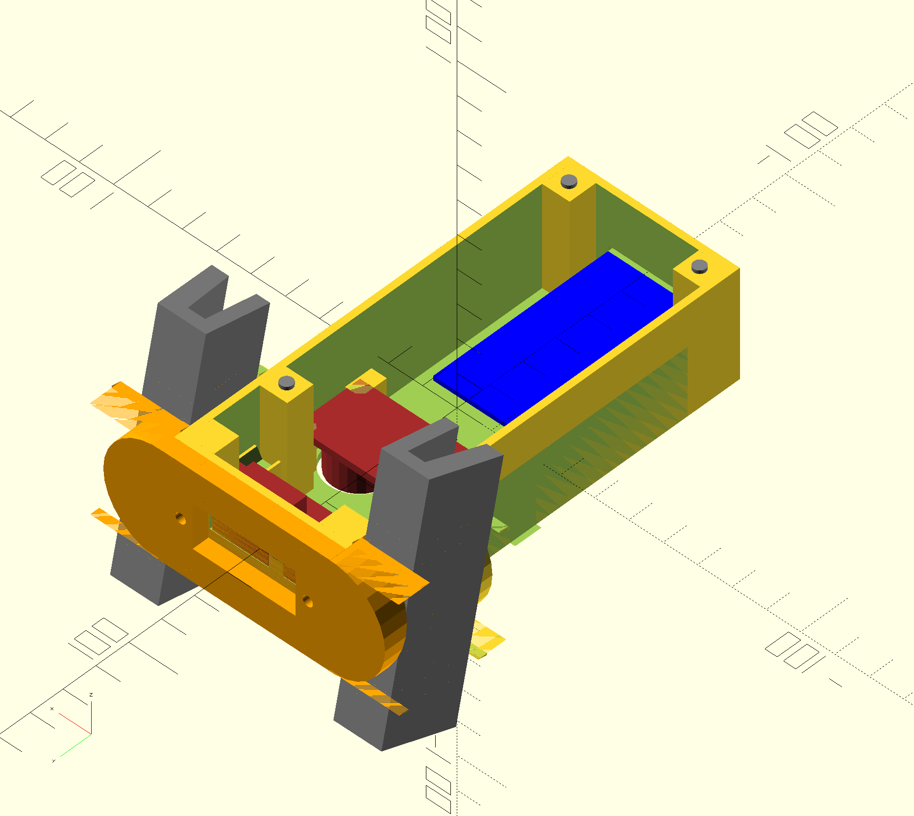 openscad render (with lots of artifacts)
